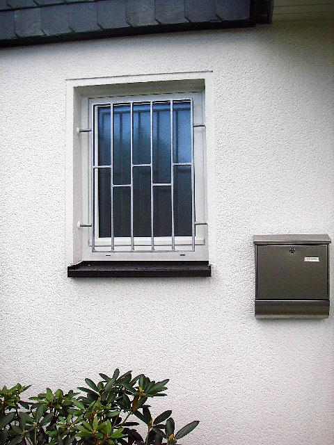 Extrem Einbruchschutz - Fenstergitter, Gittertüren, Kellerfenstervergitterung JJ57